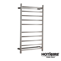 Stainless Steel Curved Towel Rail 1000 x 600mm