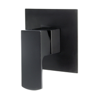 Aguzzo Terrus Wall Mounted Shower Mixer in Black