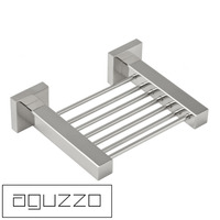 Aguzzo Quadro Stainless Steel Soap Holder in Chrome