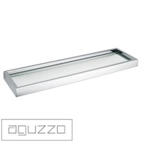Aguzzo Montangna Stainless Steel Glass Shelf 500mm
