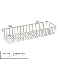 Modern Stainless Steel Wall Bathroom Basket