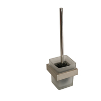 Montangna Wall Mounted Toilet Brush Holder in Satin