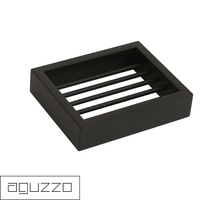 Montangna Stainless Steel Soap Dish in Matte Black