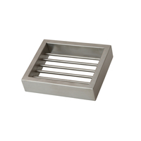 Montangna Stainless Steel Soap Dish Brushed Satin