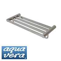 Aqua Vera Pearl Stainless Steel Towel Rack 620mm