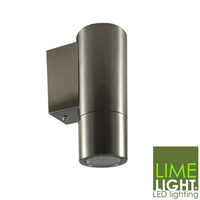 Sorrento Stainless Steel Wall Mounted Downlight