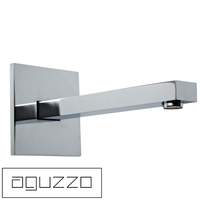 Aguzzo Wall Mounted Square Spout in Polished Chrome