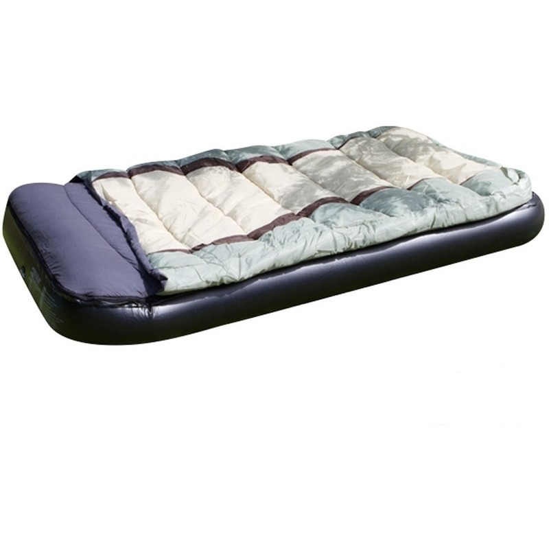 2 In 1 Zipped Sleeping Bag And Air Bed 190x99x25cm Buy