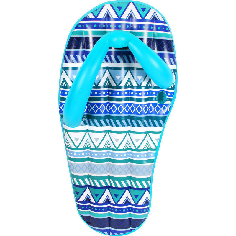 Giant Inflatable Flip Flop Thong Pool Float In Blue Buy
