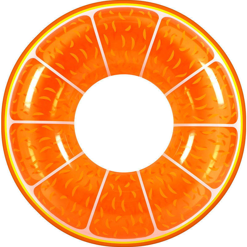 Giant Inflatable Orange Fruit Swimming Pool Ring Buy