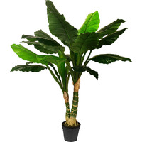 Large Artificial Faux Philodendron in a Pot 120cm