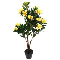 Artificial Potted Dahurian Rhododendron Plant 110cm