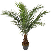 Large Artificial Faux Pin Palm Tree in a Pot 90cm
