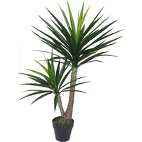 Large Artificial Faux Yucca Tree in a Pot 125cm