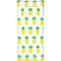 Inflatable Float Lounge Pineapple Print 181x82x22cm