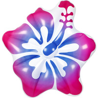 Inflatable Hibiscus Air Lounge in Pink 155x140x25cm