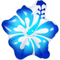 Inflatable Hibiscus Air Lounge in Blue 155x140x25cm