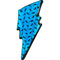 Inflatable Lightning Bolt Float in Blue 194x73x17cm
