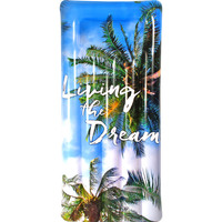 Inflatable Living the Dream Pool Float 182x82x22cm
