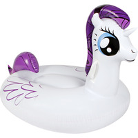 Huge Inflatable My Big Pony Pool Air Float in White