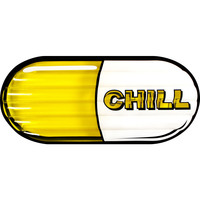 Giant Inflatable Chill Pill Swimming Pool Air Float