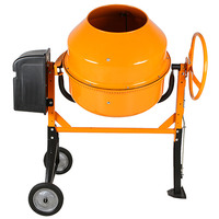 Heavy Duty Steel Portable Cement Mixer 1000W 200L