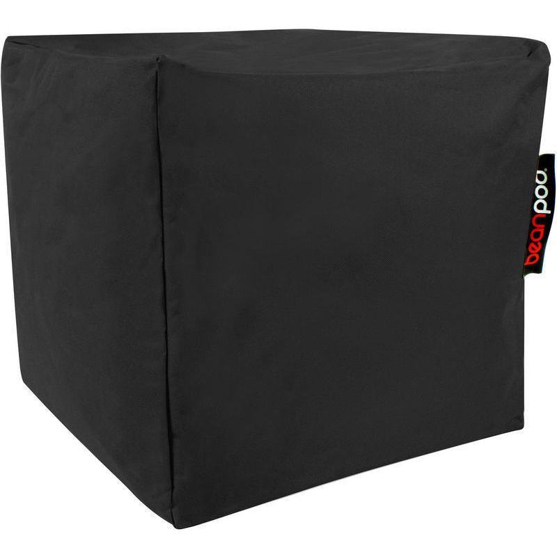 Indoor amp Outdoor Cube Bean Bag in Black 45x45x45cm Buy  : BP0006A01 from www.mydeal.com.au size 800 x 800 jpeg 83kB
