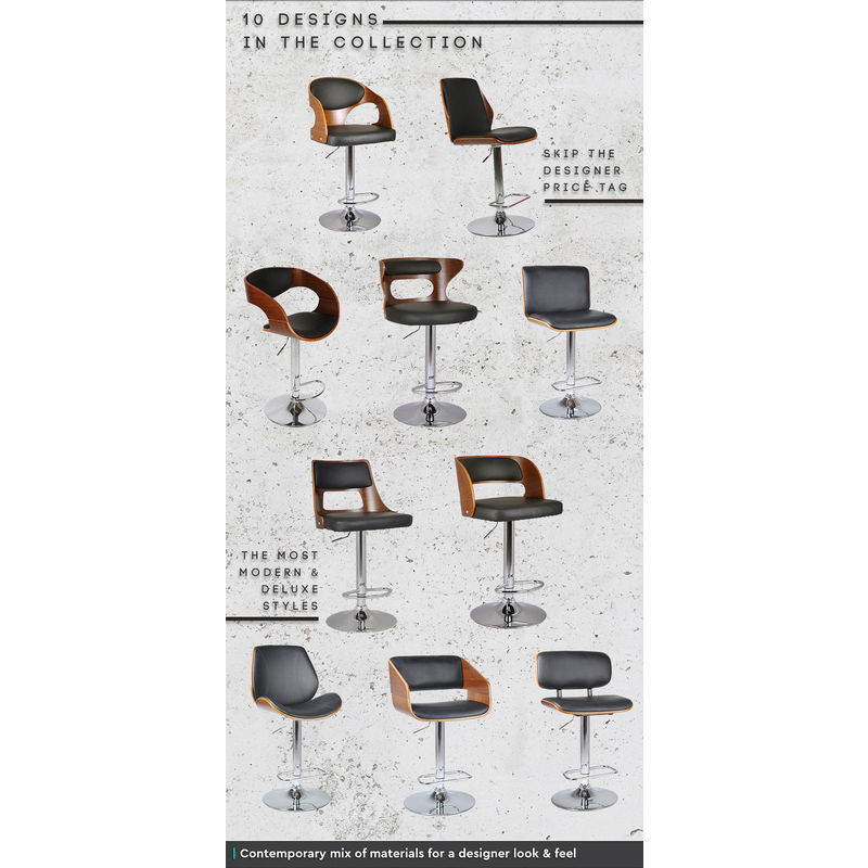 Maria Wooden PU Leather Bar Stool with Gas Lift Buy Bar  : HE143904 from www.mydeal.com.au size 800 x 800 jpeg 112kB