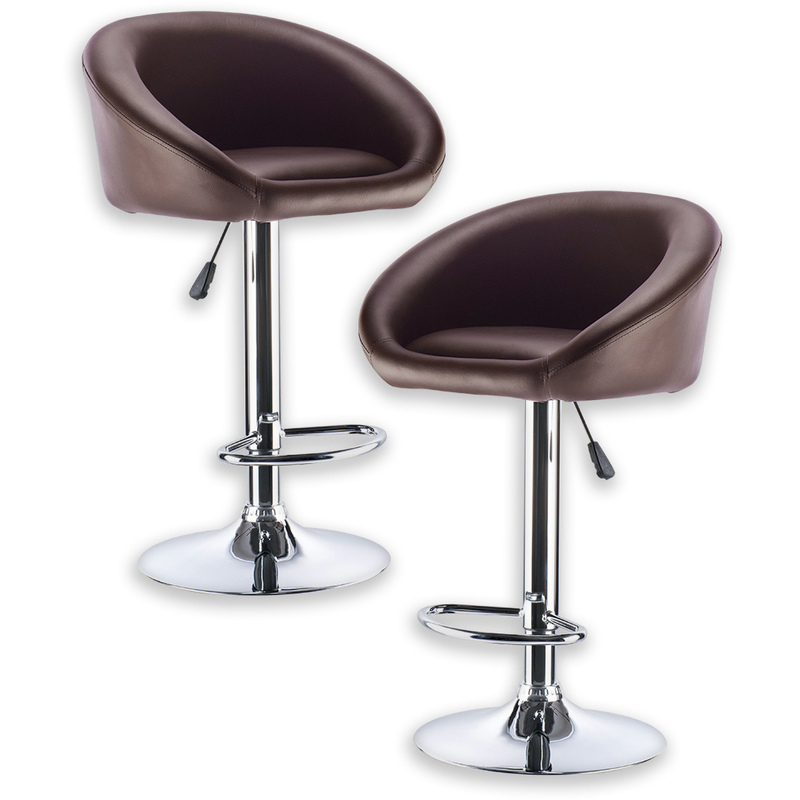2x Bell PU Leather Bar Stool w Gas Lift Chocolate Buy  : HE1445C01 from www.mydeal.com.au size 800 x 800 jpeg 114kB