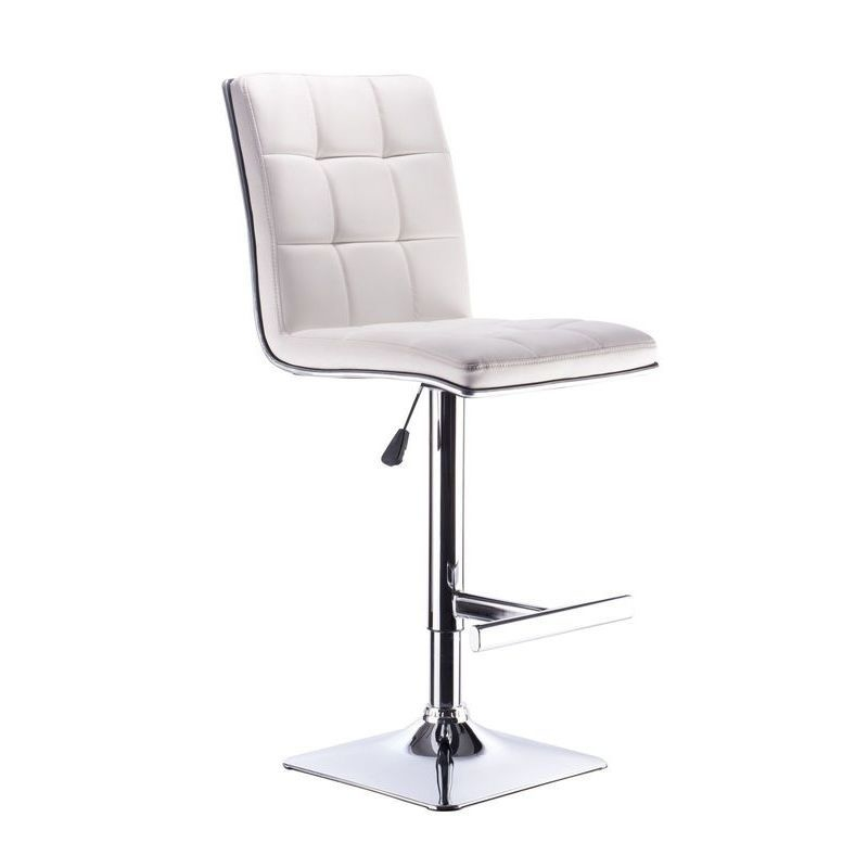 2x Lento PU Leather Bar Stool w Gas Lift in White Buy  : HE1446B05 from www.mydeal.com.au size 800 x 800 jpeg 41kB