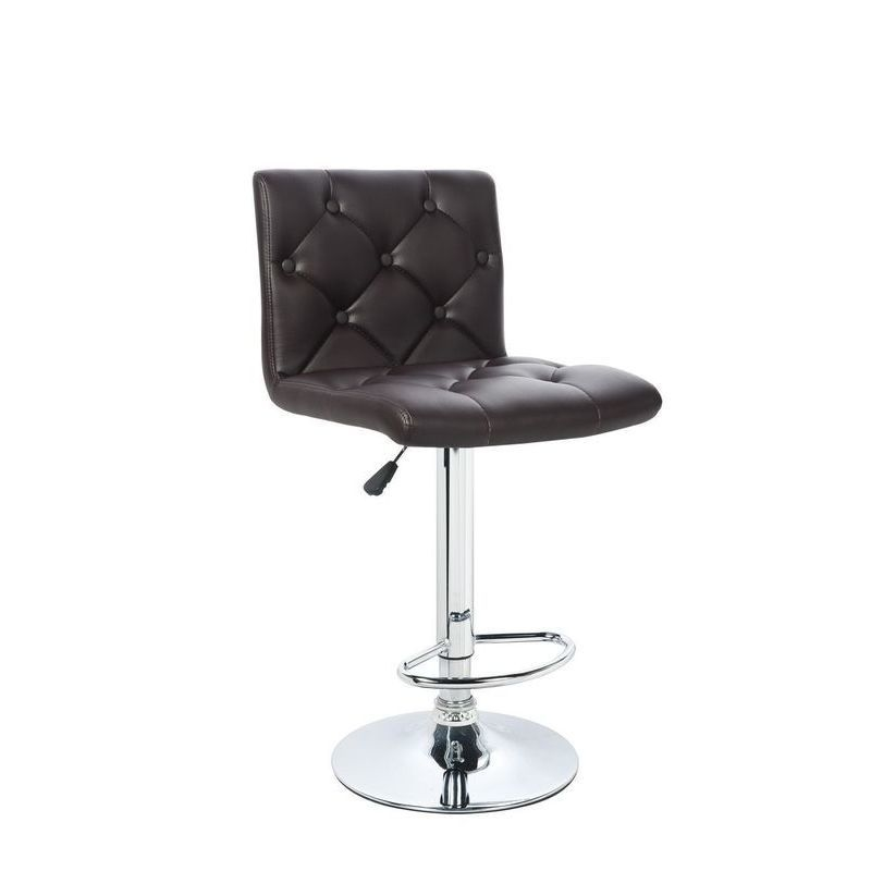 2x Pask PU Leather Bar Stool w Gas Lift Chocolate Buy  : HE1451C05 from www.mydeal.com.au size 800 x 800 jpeg 40kB