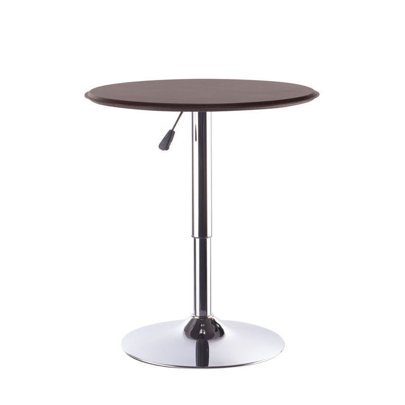 2x Adjustable Round Bar Table w Gas Lift Chocolate Buy  : HE1462C05 from www.mydeal.com.au size 800 x 800 jpeg 38kB