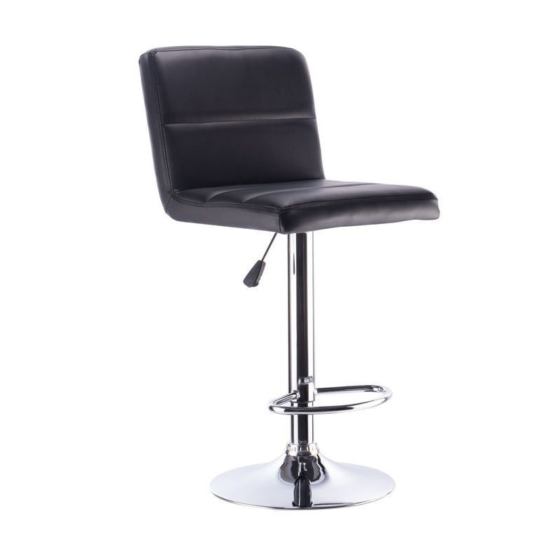 2x Sans PU Leather Bar Stool w Gas Lift in Black Buy  : HE1465A05 from www.mydeal.com.au size 800 x 800 jpeg 42kB