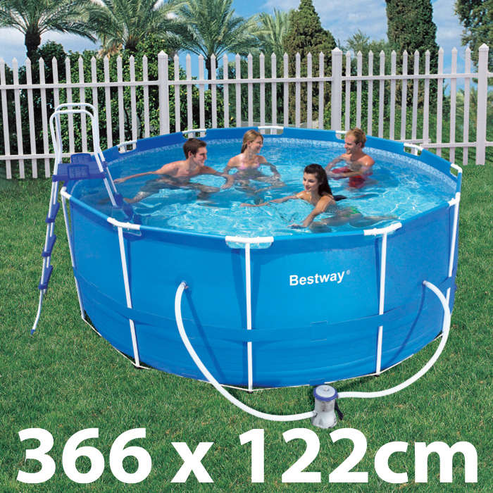 Bestway Above Ground Swimming Pool Set 366x122cm Buy Swimming Pools