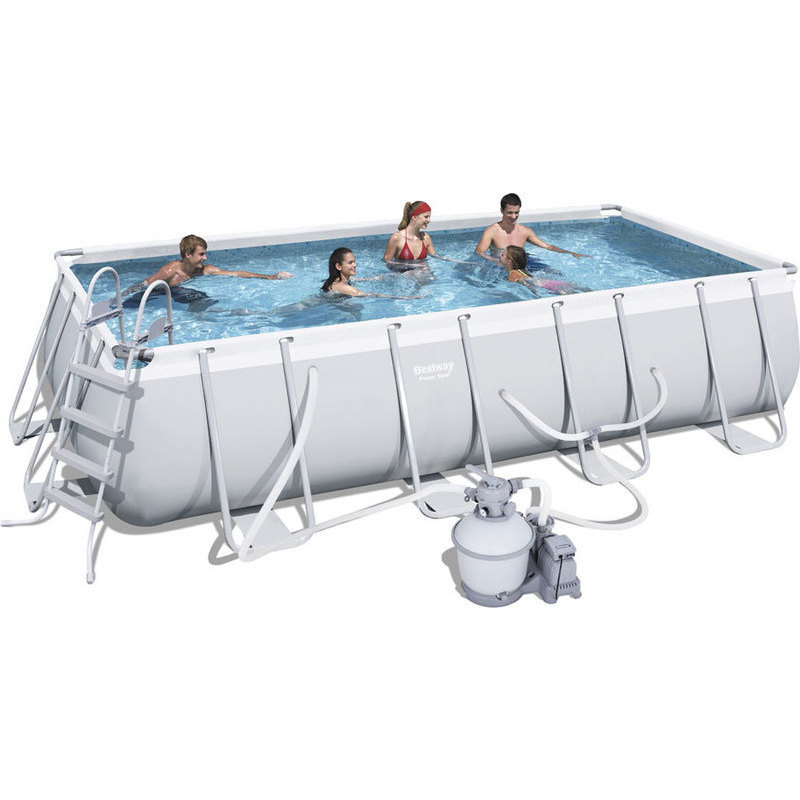 Bestway above ground pool w sand filter 488x274cm buy sale for Bestway pools for sale