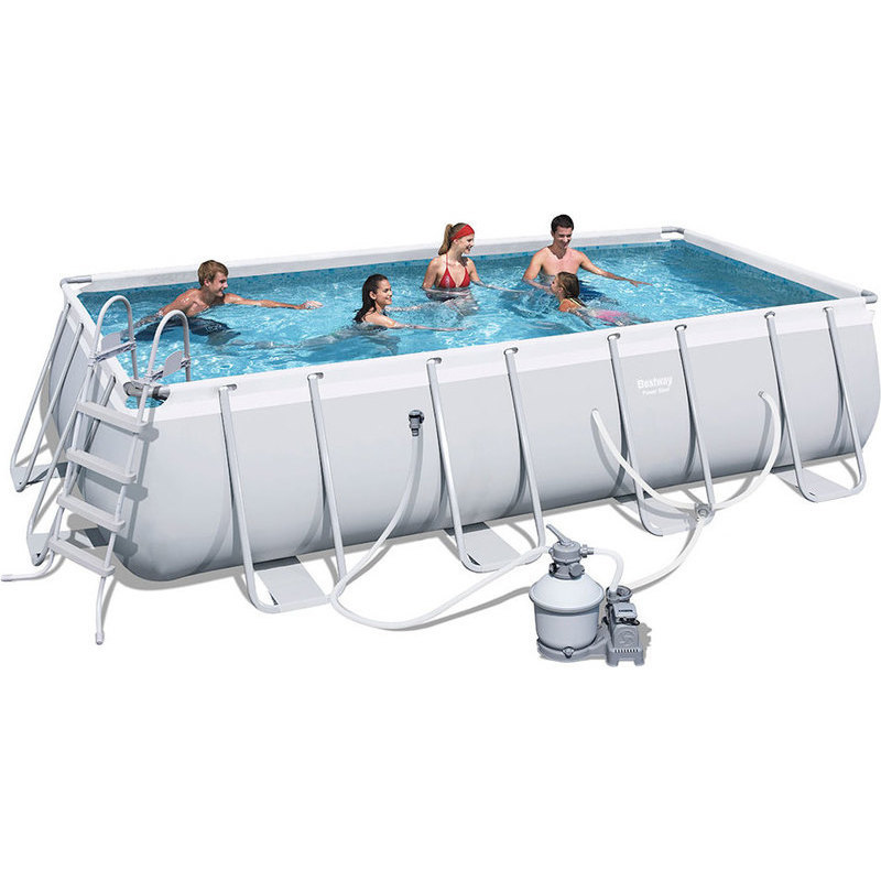 Bestway Above Ground Pool W Sand Filter 549x274cm Buy Swimming Pools