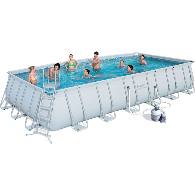 Bestway Above Ground Pool W Sand Filter 732x366cm Buy Swimming Pools