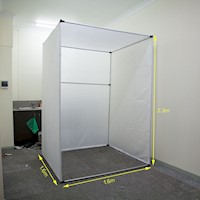 Extra Large Cube Photography Studio Tent in White