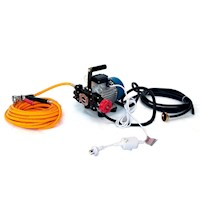 Electric Garden Weed Sprayer Kit with Piston Pump
