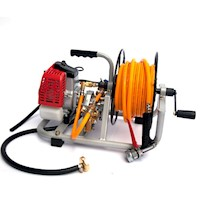 Garden Weed Sprayer Pump Kit with Motor & Hose Reel
