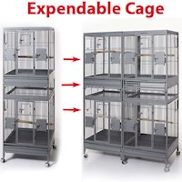 Multi Stacker Expandable Bird Cage Base Unit 180cm