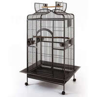 Grande Medium Open Roof Parrot Bird Cage w/ Castors