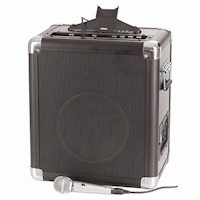Portable Speaker Amplifier w/ Docking Station 10in