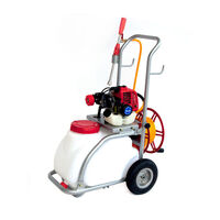 2-Stroke Petrol Powered Garden Weed Sprayer Kit 30L