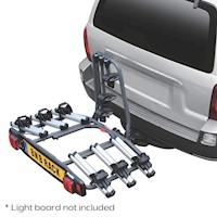 BnB Explorer Car Hitch Mount 3 Bike Rack Carrier