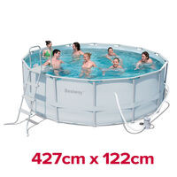 Bestway Above Ground Swimming Pool Set 427x122cm