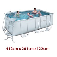 Bestway Rectangular Above Ground Swimming Pool 4.1m