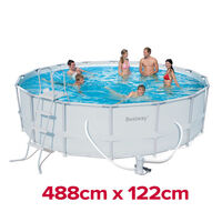 Bestway Above Ground Swimming Pool Set 488x122cm