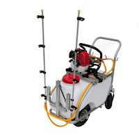 2 Stroke Petrol Powered Weed Boom Sprayer Kit 50L