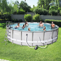 Bestway Above Ground Swimming Pool Set 549x132cm